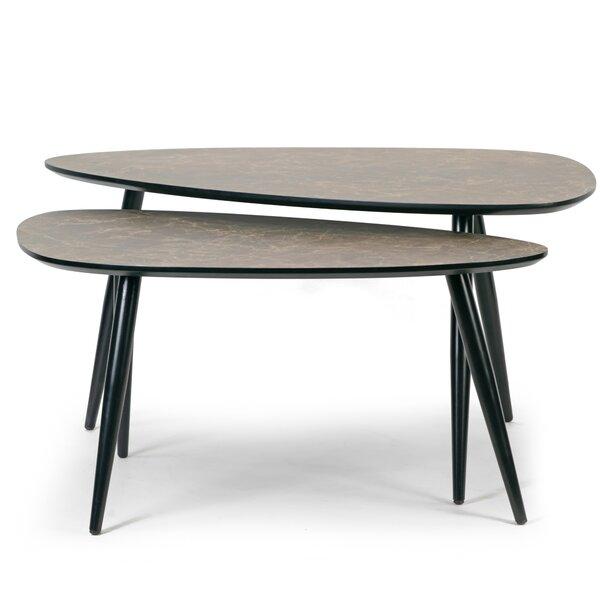 Deals Price Leticia 3 Legs Nesting Tables