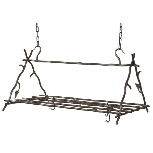 Traylor Triangle Hanging Pot Rack by Millwood Pines