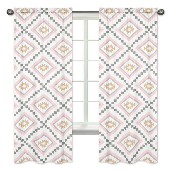 Aztec Geometric Window Curtain Panels (Set of 2) by Sweet Jojo Designs