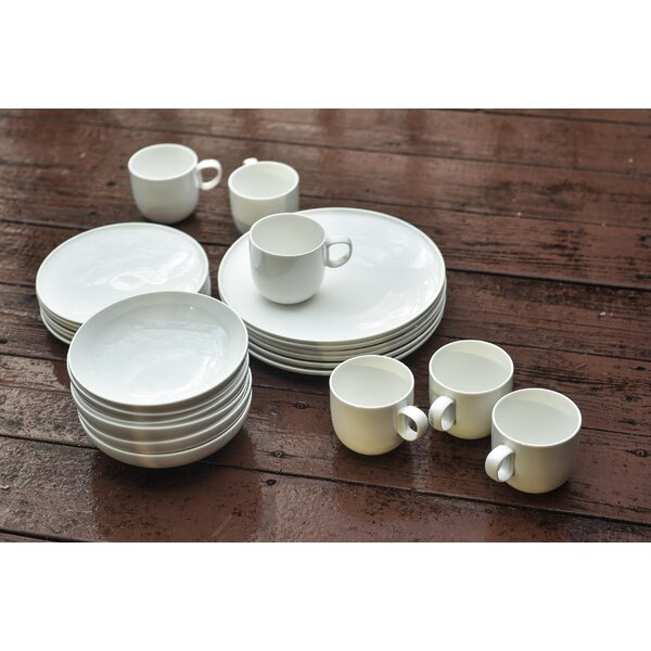 Everytime 24 Piece Dinnerware Set by Red Vanilla