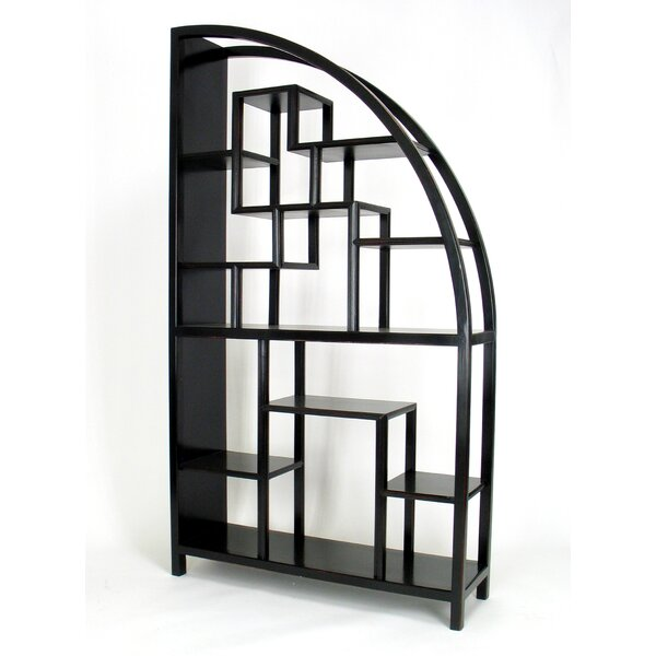 Albanese Geometric Bookcase By Bloomsbury Market