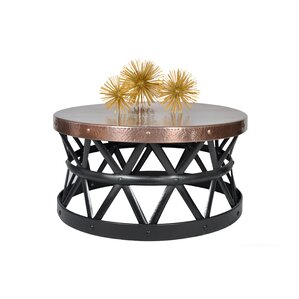 Drum Hammered Coffee Table