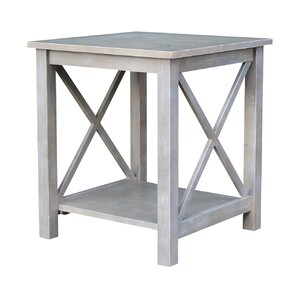 Gabby End Table with Storage by Highland Dunes