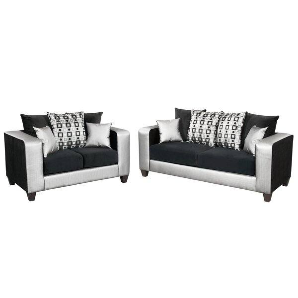 Dilorenzo Modern 2 Piece Living Room Set by Latitude Run
