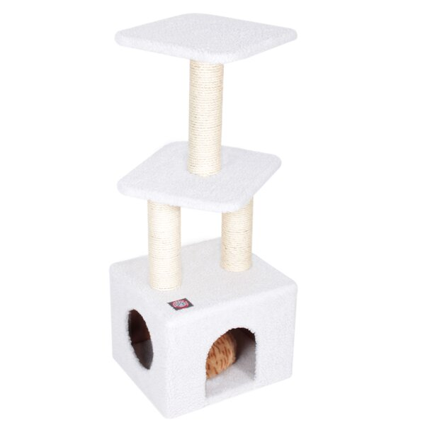 40 Bungalow Sherpa Cat Tree by Majestic Pet Produc