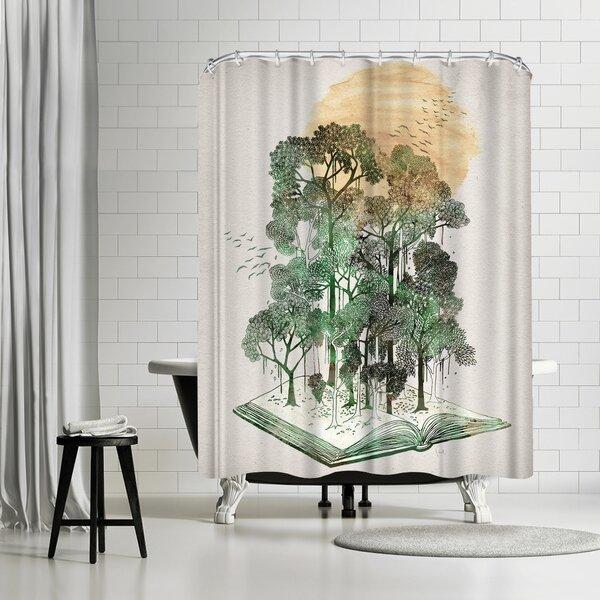 David Fleck Jungle Book Shower Curtain by East Urban Home
