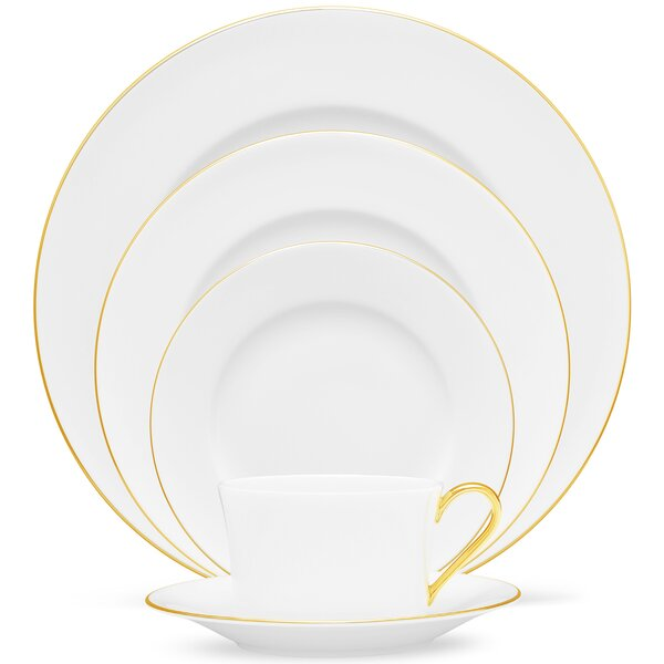 Accompanist 5 Piece Place Setting Set, Service for 1 (Set of 5) by Noritake