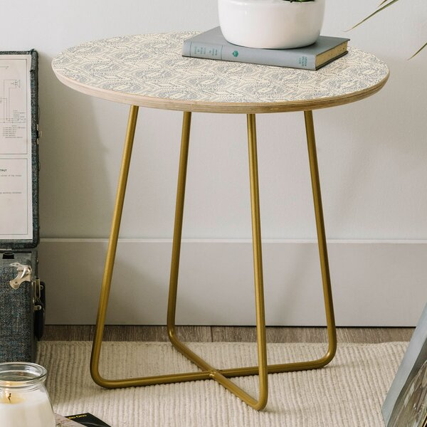 Holli Zollinger Round End Table by East Urban Home