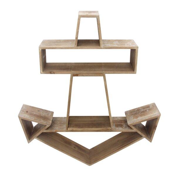 Wooden Accent Shelf by Longshore Tides