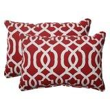 Dillan Corded Indoor/Outdoor Lumbar Pillow (Set of 2)