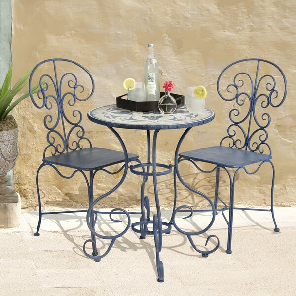 Toulouse 3 Piece Bistro Set by Bombay Outdoors