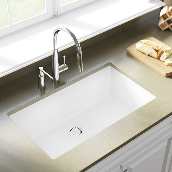 Quartz Classic 33 x 18 Undermount Kitchen Sink by Elkay