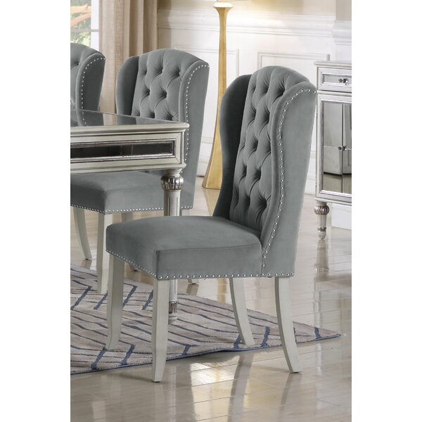 Boucher Wingback Dining Chair (Set of 2) by House of Hampton