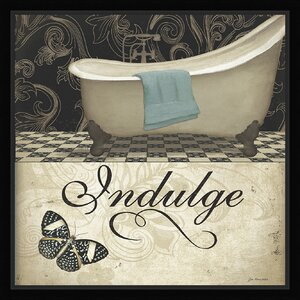 Trends Indulge Framed Graphic Art by Ashton Wall Décor LLC