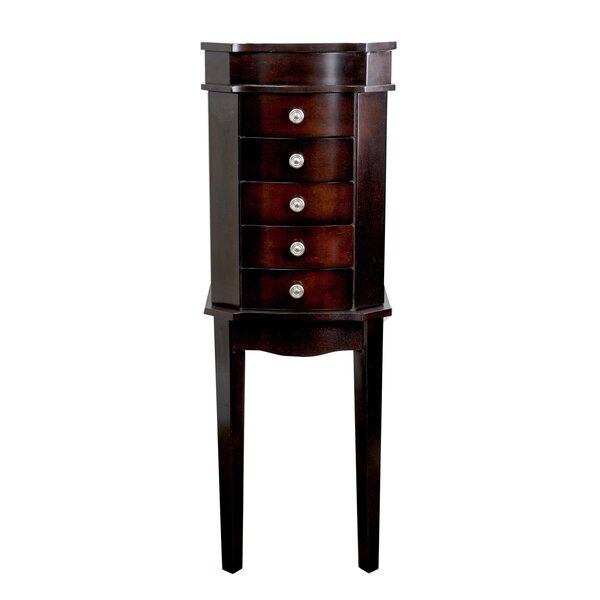 Meg Jewelry Armoire with Mirror by Hives and Honey