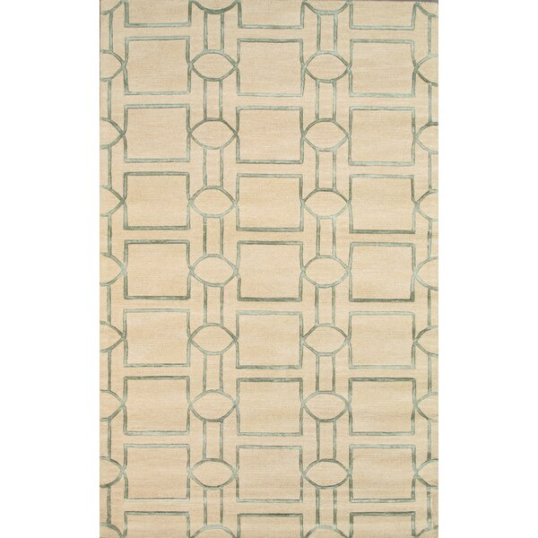 Venice Hand Tufted Transitional Cream Area Rug by Pasargad