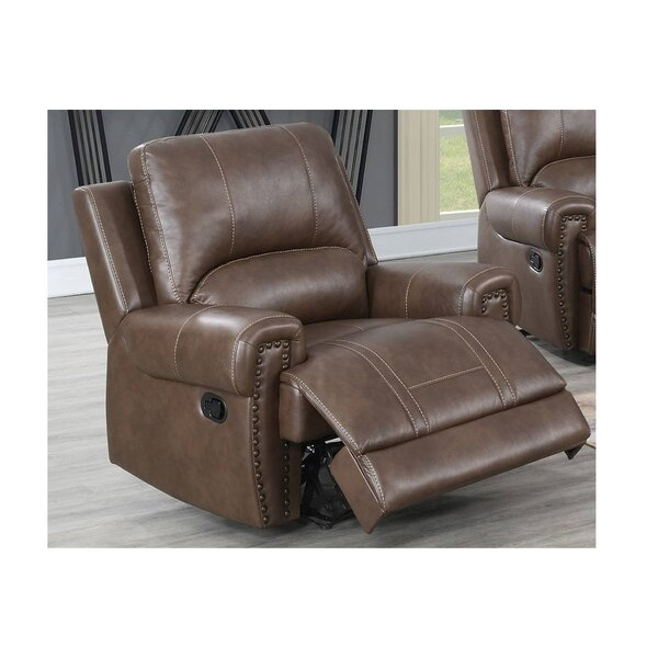 Amodea Faux Leather Manual Glider Recliner W003506527