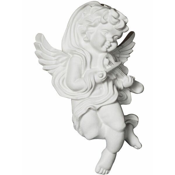 Angel 7.13 H x 4.5 W x 2.38 D On Lay Scroll Right by Ekena Millwork