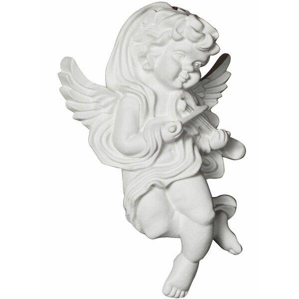 Angel 7.13 H x 4.5 W x 2.38 D On Lay Scroll Right by Ekena Millwork
