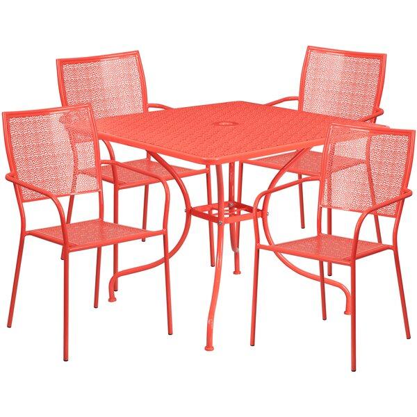 Neda 5 Piece Dining Set by Zipcode Design