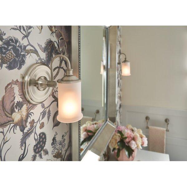 Belfield 1-Light Bath Sconce by Moen