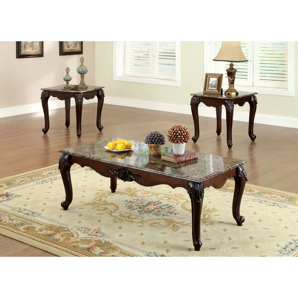 Vesperina 3 Piece Coffee Table Set by Astoria Grand Astoria Grand