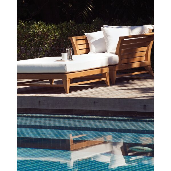 Limited Teak Patio Chair with Ottoman by OASIQ