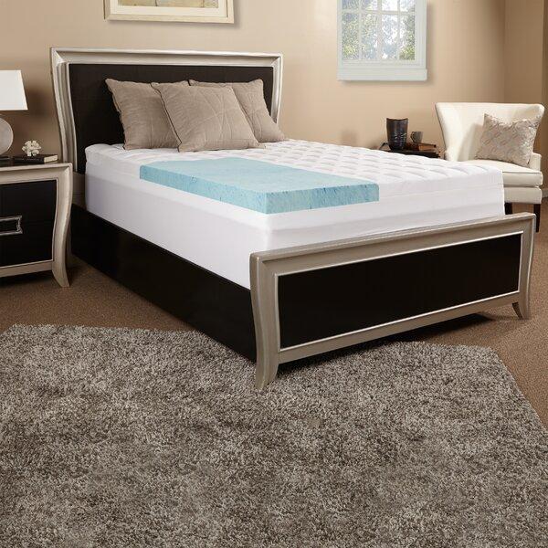 5.5 Gel Memory Foam Mattress Topper by Luxury Solutions