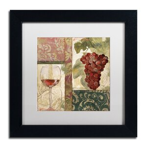 'Sofia I' by Color Bakery Framed Graphic Art by Trademark Fine Art