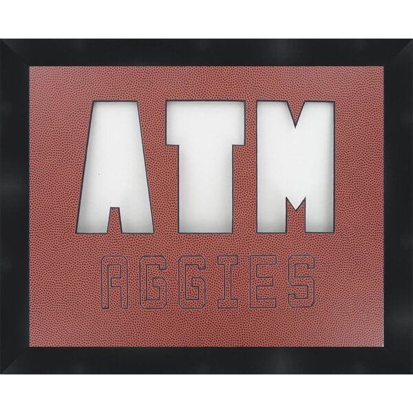 NCAA Texas A&M University Football Collage Picture Frame by Frames By Mail