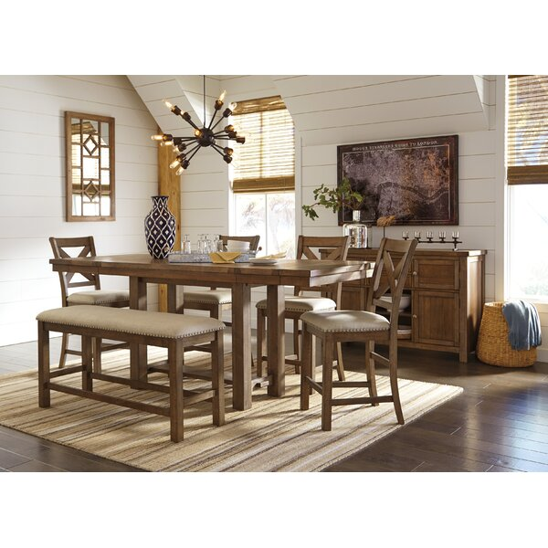 Hillary 6 Piece Drop Leaf Dining Set by Laurel Foundry Modern Farmhouse Laurel Foundry Modern Farmhouse