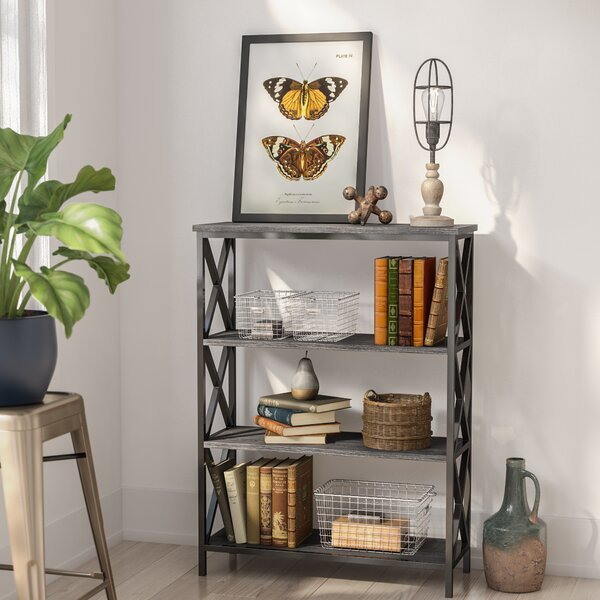 Abbottsmoor Etagere Bookcase by Andover Mills