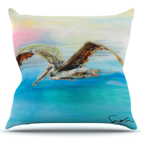 Coast by Josh Serafin Outdoor Throw Pillow by East Urban Home
