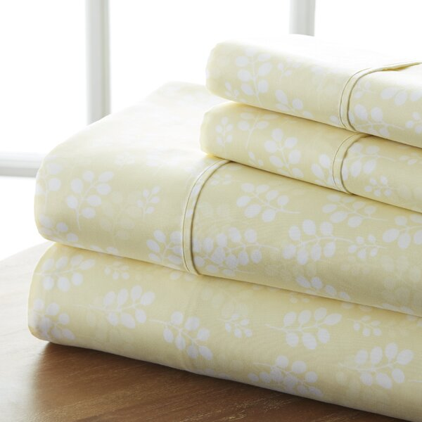 Perley Wheat Sheet Set by Charlton Home