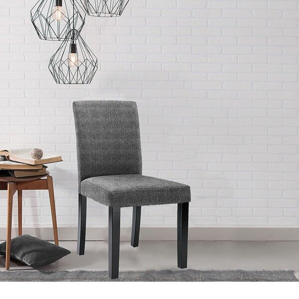 Stretch T-Cushion Dining Chair Slipcover (Set of 4) by Winston Porter