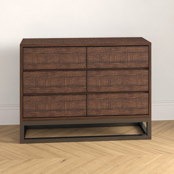 Natalia 6 Drawer Double Dresser by Foundstone