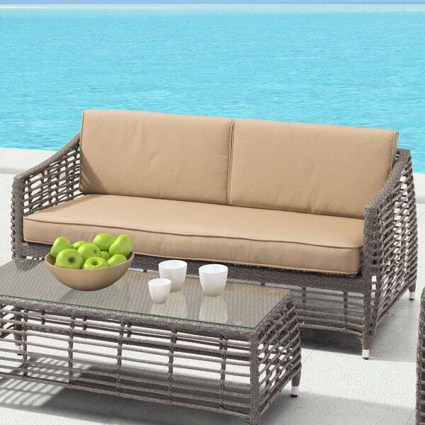 Arietta Sofa with Cushion by Brayden Studio Brayden Studio