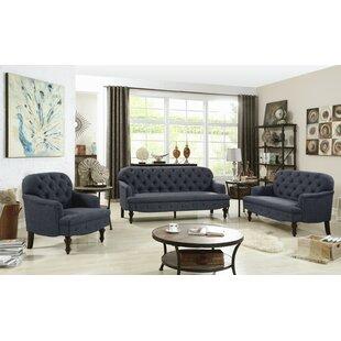 Digirolamo 3 Piece Living Room Set by Darby Home Co