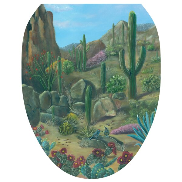 Desert Oasis Toilet Seat Decal by Toilet Tattoos