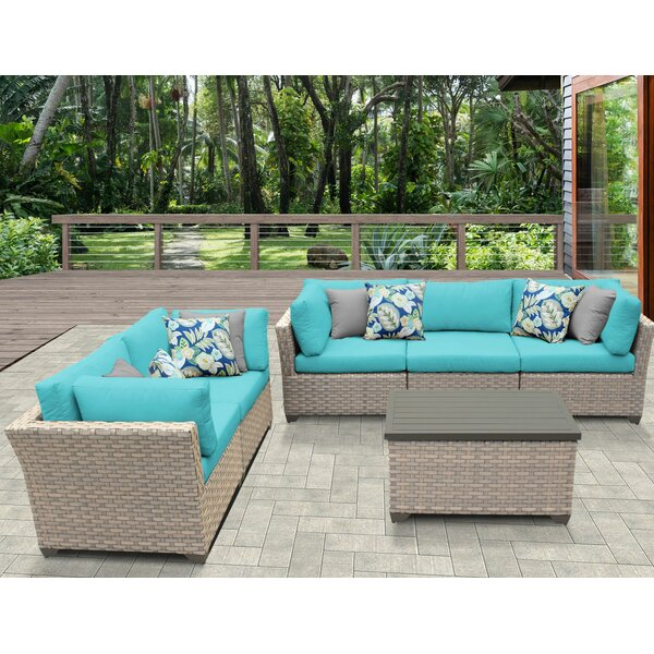 Rochford 6 Piece Sofa Seating Group with Cushions by Sol 72 Outdoor