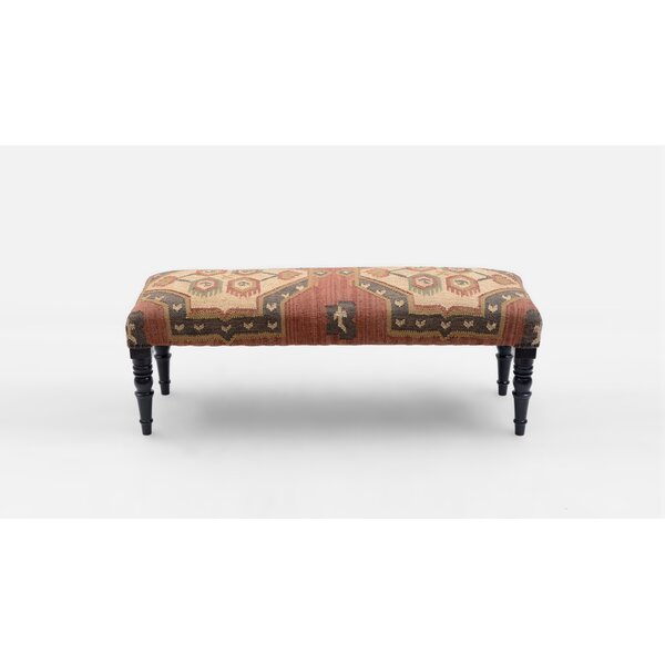 Lyell Upholstered Bench by Millwood Pines