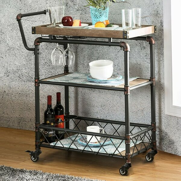 Elnora Bar Cart by Williston Forge