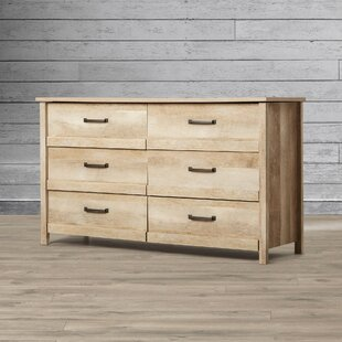 Sunlight Spire 6 Drawer Double Dresser