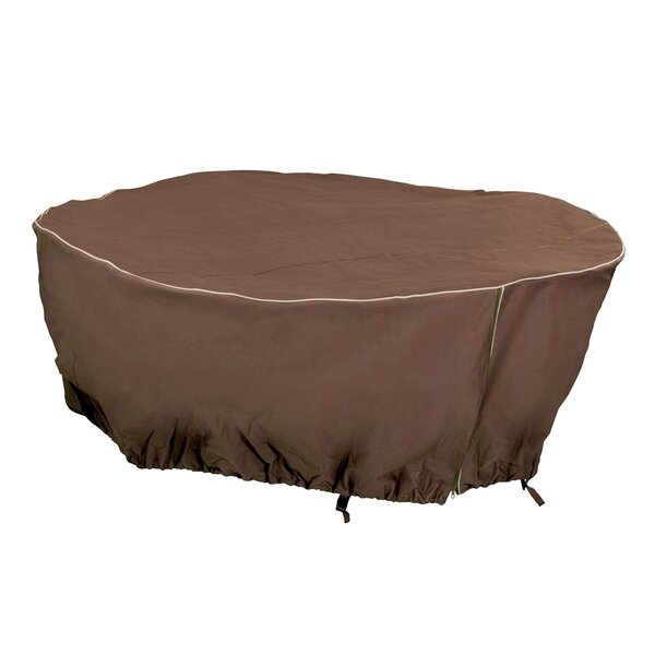 Round Patio Table Cover by Mr. Bar-B-Q