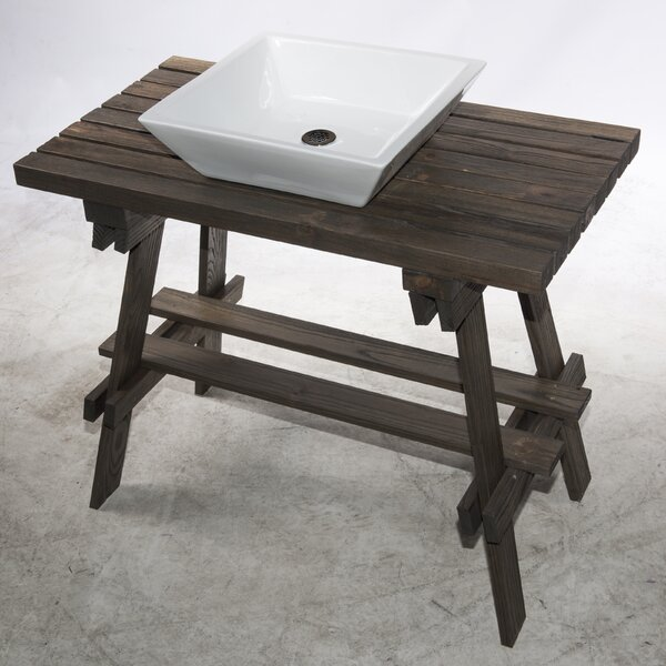 Bragdon 35 Single Bathroom Vanity Set by Union RusticBragdon 35 Single Bathroom Vanity Set by Union Rustic