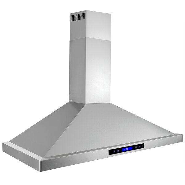 41 343 CFM Convertible Wall Mount Range Hood by AKDY