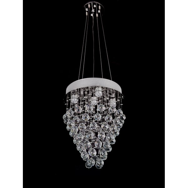 Orme 5 - Light Unique / Statement Tiered Chandelier By House Of Hampton