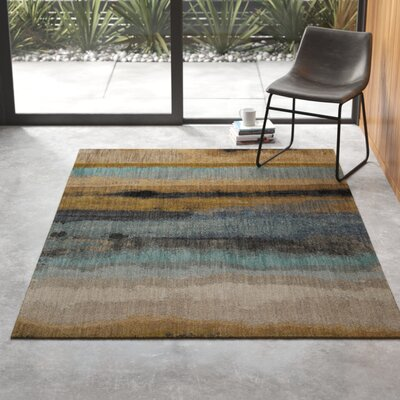 Modern Yellow Amp Gold Area Rugs Allmodern