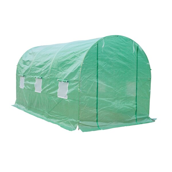 6.6 Ft. W x 14.8 Ft. D Commercial Greenhouse by Outsunny
