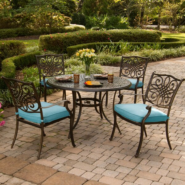 Layman 9 Piece Dining Set by Three Posts